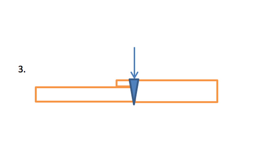 Can the joint be accessed by a beam of electrons?